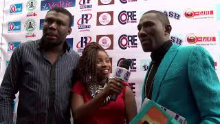 Red Carpet Interview with Frank D Don and Emeka Smith