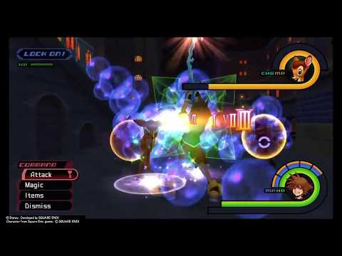 KINGDOM HEARTS - HD 1.5 - How To Get Power Stones