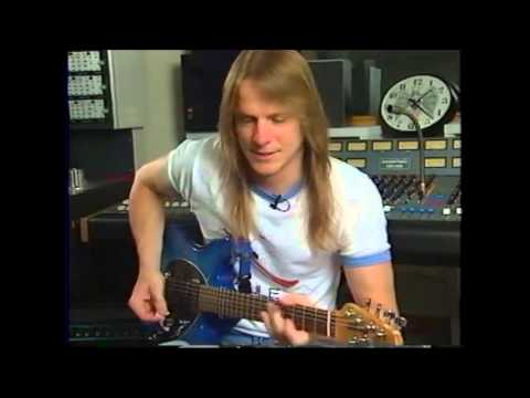 Steve Morse - Hot Guitarist Video Magazine 1993 - part 1 of 2