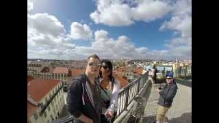 MicklethwaiteME... Spinny in Lisbon, looking over the city