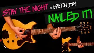 Stay The Night - Green Day guitar cover by GV +chords