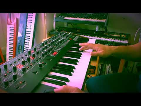 House Music on the Sequential Prophet 6 & Boss RC-505 Looper