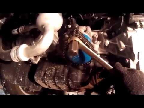 KIA Sportage 3 рестайл. Замена масла в двигателе G4NA(Nu).