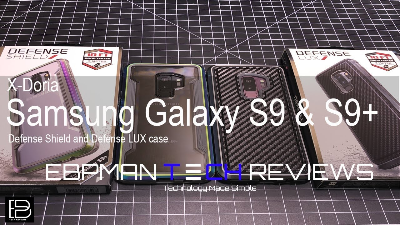 online store 8de6a a1f9b Samsung Galaxy S9 & S9 Plus X-Doria Cases with Wireless Charging Test