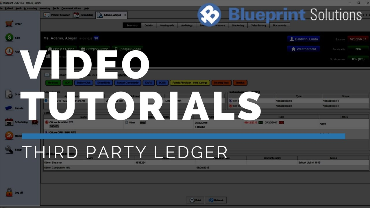 Third party ledger youtube third party ledger blueprint solutions malvernweather Image collections