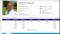 Longwood Chiropractor Reviews -   Rosenberg Chiropractic   Longwood Florida