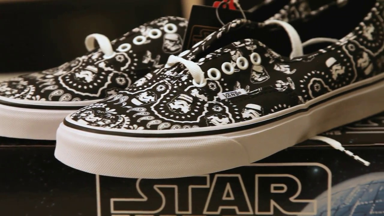 5434dd13b2 Star Wars x Vans Classic Collection - Stormtrooper Bandana Authentic  6 1 2014 - On Feet