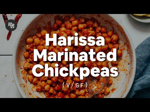 Harissa Marinated Chickpeas | Minimalist Baker Recipes