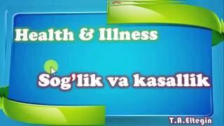 Learning Uzbek Language health and illness