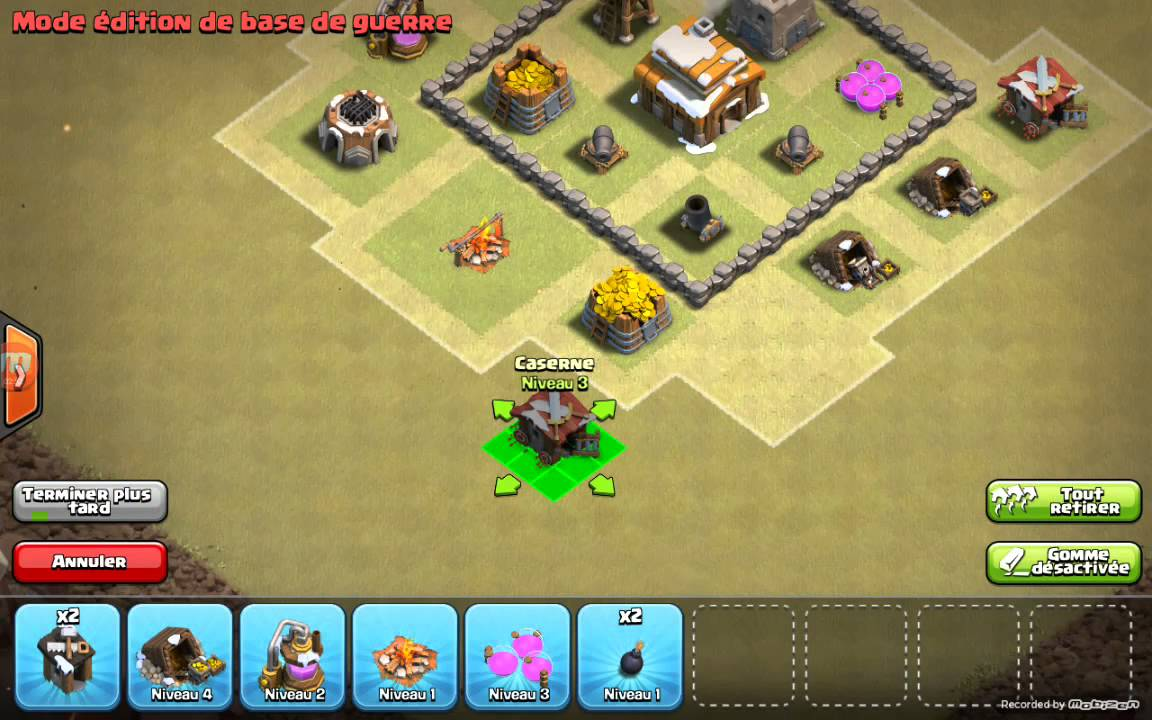 sapin de noel 2018 clash of clans Hdv 3 gdc clash of clans   YouTube sapin de noel 2018 clash of clans