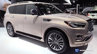2018 Infiniti QX80 - Exterior and Interior Walkaround - 2018 Detroit Auto Show