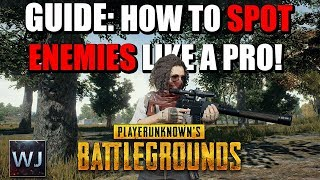 Gambar cover GUIDE: How to SPOT Enemies LIKE A PRO - PLAYERUNKNOWN's BATTLEGROUNDS (PUBG)