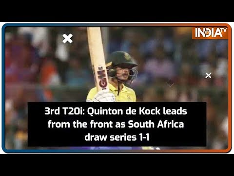 South Africa Cruise To A 9-wicket Win Over India, Draw T20I series 1-1