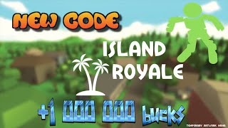NEW CODE ROBLOX FOR ISLAND ROYALE (FR)