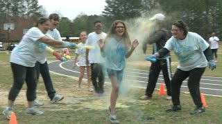 Fun Run at Varner Elementary School