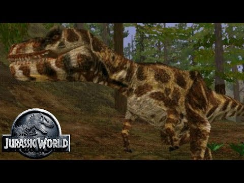 The Albertosaurus of Jurassic Park - InGen