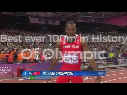 Best ever 100m in Olympic History