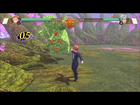 The Seven Deadly Sins: Knights of Britannia what if Ban vs King