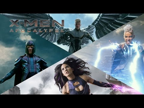 X-Men: Apocalypse | The Four Horsemen | 20th Century Fox Norge