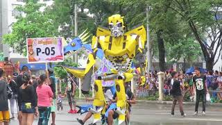 GIANT DANCING 25ft HANDMADE PUPPETS, FAMOUS SINULOG FESTIVAL 2018, CEBU, PHILIPPINES, TOURISM