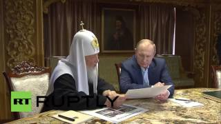 Greece: Putin and Patriarch Kirill meet at Mount Athos