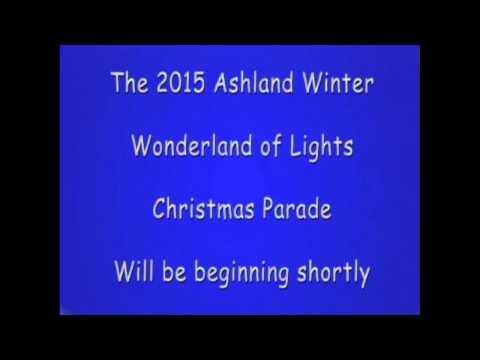 Ashland Winter Wonderland of Lights Parade 2015