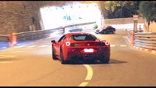 Crazy Ferrari Owners Trying to Drift in Monaco!!