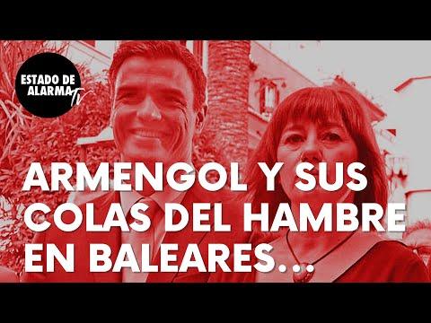 Estas son las colas del hambre de la socialista Armengol en Baleares