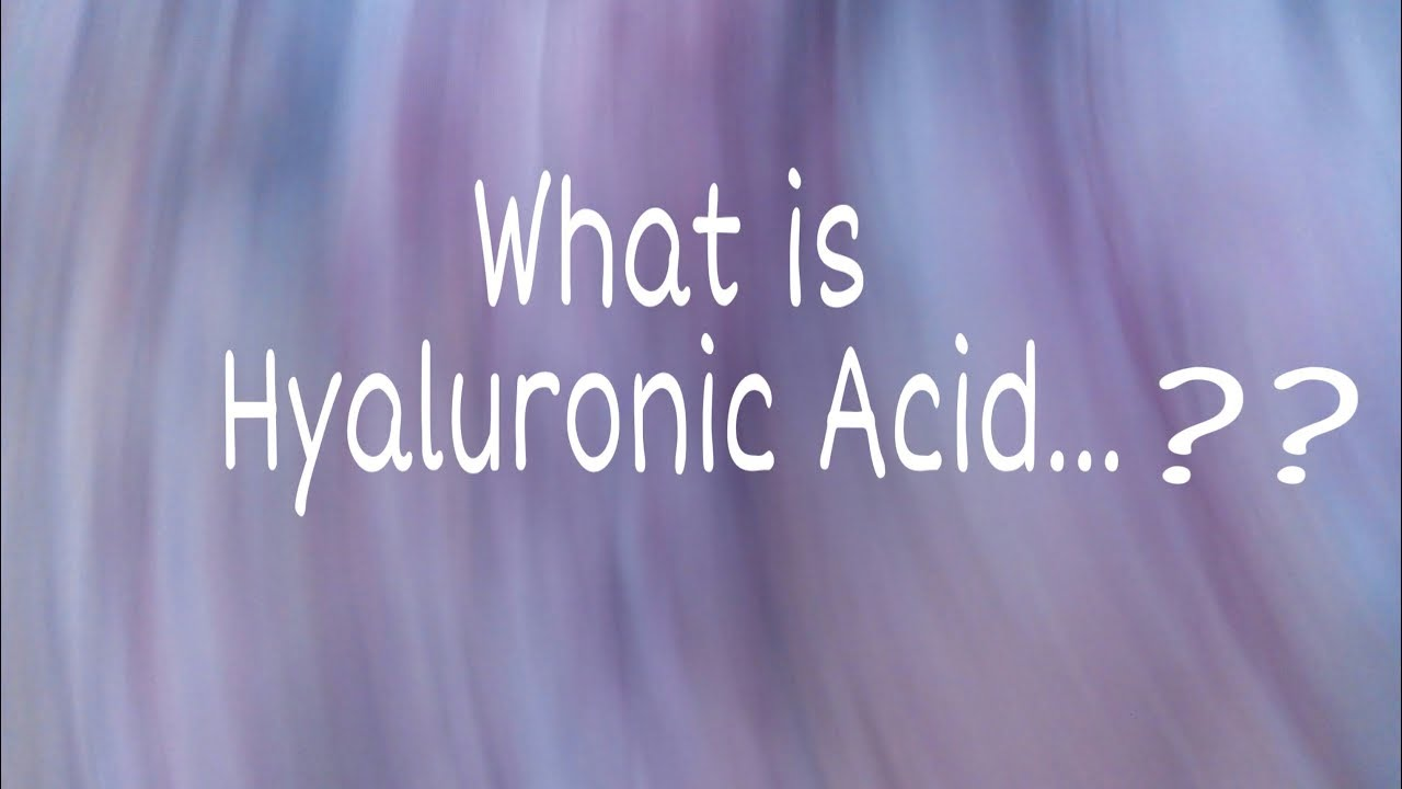 What is Hyaluronic Acid? Informative video in Urdu