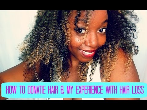 Hair donation and my experience with hair loss