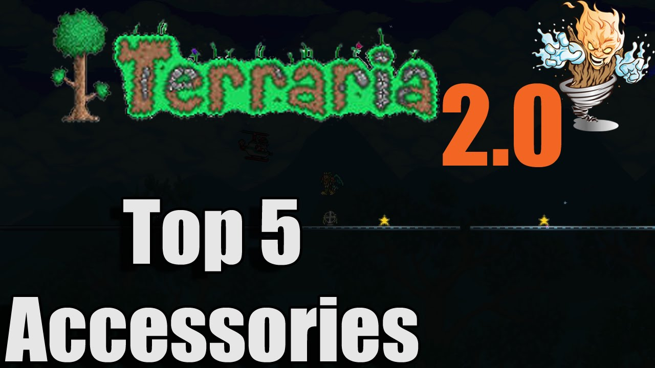 Terraria Top 5 Accessories  Terraria Best Accessories