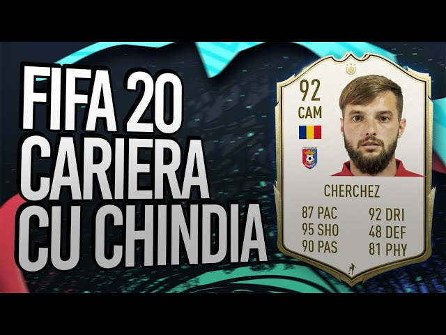 FIFA 20 Cariera cu Chindia Targoviste - Trailer