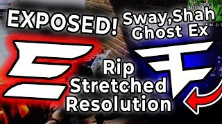 Evade Dvces EXPOSED - FaZe Sway , Ghost Ex , Shah Stretched Resolution , Fortnite Hacked - Parallel