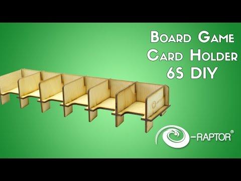 Board Game Card Holder 6s Diy E Raptor