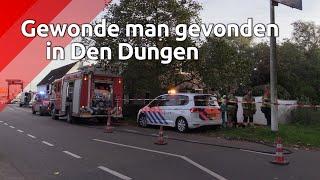 Gewonde, verwarde man gevonden in Den Dungen.