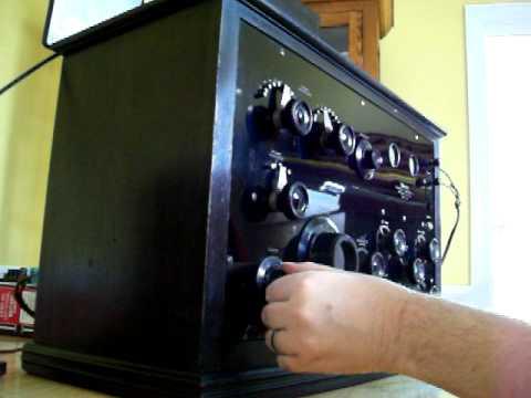 Federal model 59 radio
