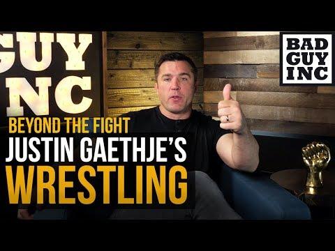 Wrestling makes Justin Gaethje tired...
