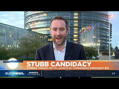 Former Finnish PM Stubb to launch EU Commission President bid