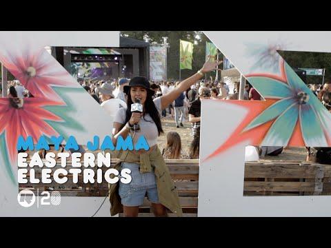 Maya Jama at Eastern Electrics Festival 2014