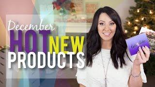Hot NEW Beauty Products - December 2014   Makeup Geek
