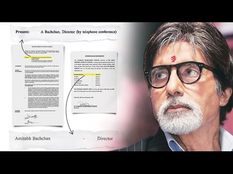 Panama Papers: Amitabh Bachchan attended board meets on phone, report says