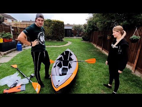 ITIWIT 3 Man Inflatable Kayak! Great Purchase Under £300 - #COVIDMADEUSDOIT