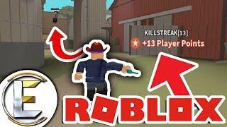 CARRYING THE TEAM in Wild Revolvers Roblox - 13 kills in a row (13 KILLSTREAK!)
