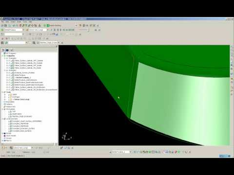 PowerMILL 5 Axis Surface Swarf Machining