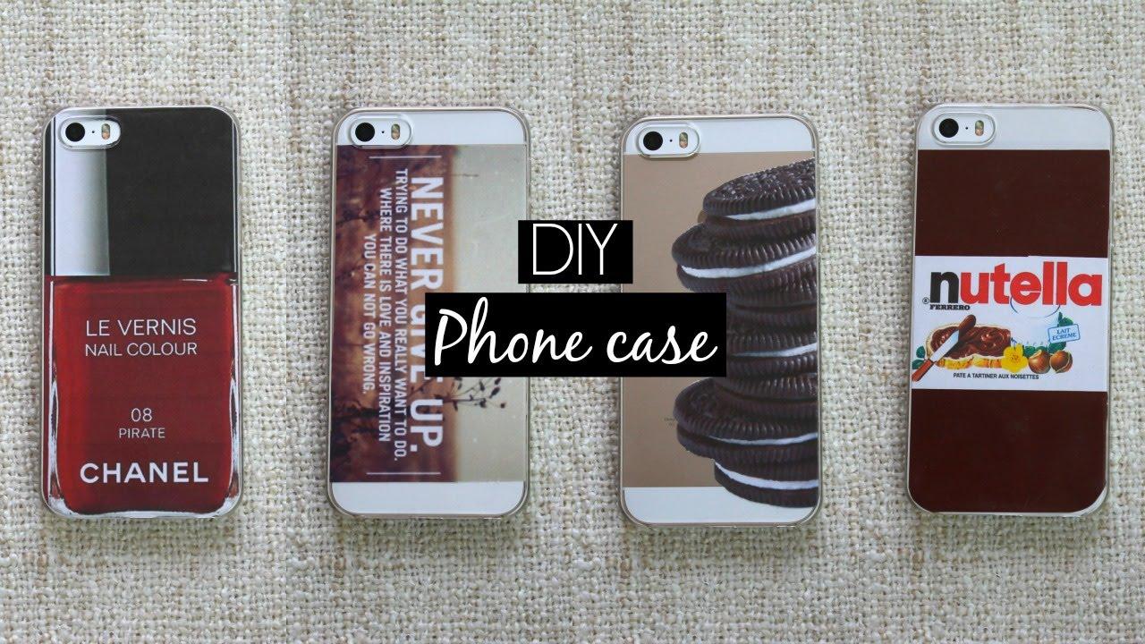 DIY | iPhone case - YouTube