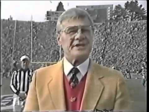Ronald Reagan Coin Toss at Super Bowl XIX