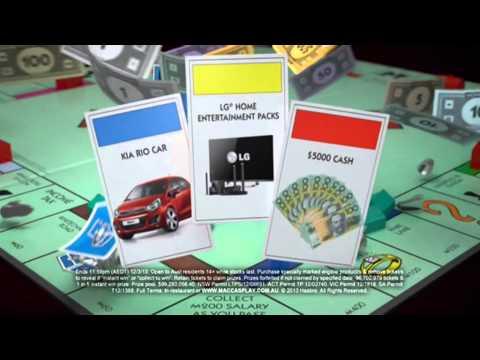 McDonalds - Monopoly 15s - Australia, 2013