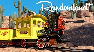 Lost Disneyland: Mine Train Through Nature's Wonderland: Abandoned remains