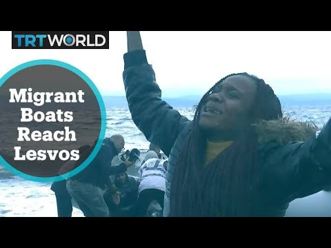 More boats carrying refugees land on Greek island of Lesvos