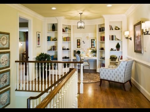 The great storage ideas for stair landing - YouTube
